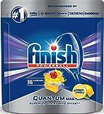 Finish Quantum Spülmaschinentabs, Geschirrspültabs für beste Finish Reinigung und Glanz, Geschirrspülmittel, 36 Tabs
