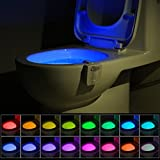 UV Stérilisateur Lampe de Toilette Veilleuse LED...