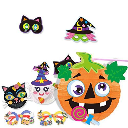 Hausgemachte Halloween Karten - XNACARD Kinder Halloween Handmade DIY Holiday
