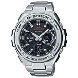 Casio Men's G-Shock GSTS110D-1A Silver Stainless-Steel Quartz Sport Watch