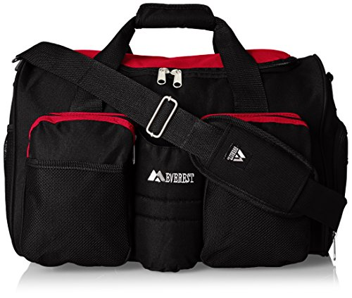 everest-gym-bag-with-wet-pocket-red-one-size