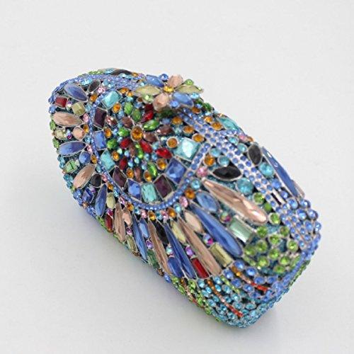 Damen-Luxus-Diamanten Abendtasche Diamant-Handtasche C