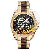 atFoliX Schutzfolie kompatibel mit Michael Kors Access Bradshaw 44.5 mm Displayschutzfolie, HD-Entspiegelung FX Folie (3X)