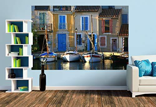 Premium Foto-Tapete Ein Motiv aus dem Kalender Ahoi! Boote und Schiffe (versch. Größen) (Size M | 279 x 186 cm) Design-Tapete, Wand-Tapete, Wand-Dekoration, Photo-Tapete, Markenqualität von ERFURT