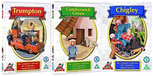 Trumpton Complete DVD Collection Set - Trumpton / Chigley / Camberwick Green