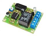 ArliKits AR141 Akustikschalter Klatschschalter Lämpchen Sensor Geräuschschalter Bausatz mit Relais