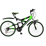 Hero Next 24T 18 Speed Sprint carbon Steel Bicycle (Green/Black)