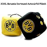 Borussia Dortmund Maxi - Plüschwürfel / XXL - Autowürfel / Würfel BVB 09