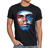 style3 Che Kuba T-Shirt Herren guevara revolution, Größe:M