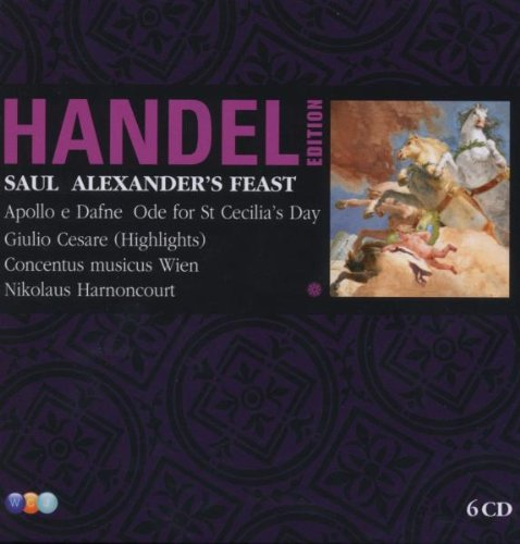 Haendel : Saul Alexander Feast (Coffret 6 CD)