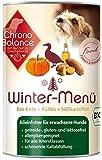 ChronoBalance Winter-Menü Bio (1 x 400g) - Hochwertiges Bio Nassfutter für Hunde mit Bio-Ente - glutenfrei, lactosefrei & allergikergeeignet
