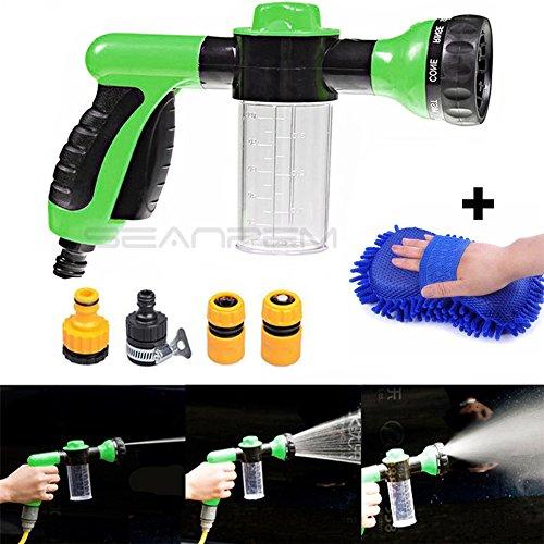 Plastik Multifuction Foam Squirt Gun 8 Arten Car Wash Wasserpistole