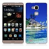 FUBAODA Huawei Ascend Mate 7 Cover, Alta qualità Bello e Romantico Paesaggio Serie TPU Skin Cover Protettiva Shell Custodia per Huawei Ascend Mate 7