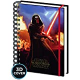 "Cuaderno de Notas con Portada 3D Star Wars: Episodio VII - The Force Awakens/ El Despertar de la Fuerza ""Kylo Ren"""