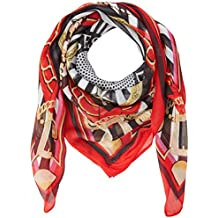 Guess Stripes and Stars Fo, Pashmina Femme, Rouge (Happiness Print Red Pc56) 2fe741918f2