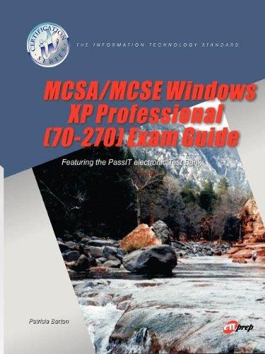 McSa/MCSE Windows XP Professional (70-270) Exam Guide por Patricia Barton