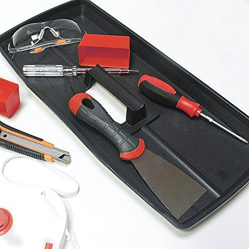 Kunststoff Werkzeugkoffer ERGO Profi 19,5″, 48x26cm Kasten Werzeugkiste Sortimentskasten Werkzeugkasten Anglerkoffer - 7