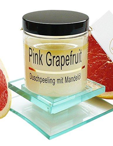 Körperpeeling Salz Pink Grapefruit Body Scrub mit Mandelöl, 320 g