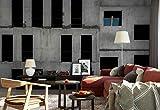 Vlies Fototapete Fotomural - Wandbild - Tapete - Unfinished Betonfassade Löcher - Thema Architektur - XL - 368cm x 254cm (BxH) - 4 Teilig - Gedrückt auf 130gsm Vlies - 1X-970153V8