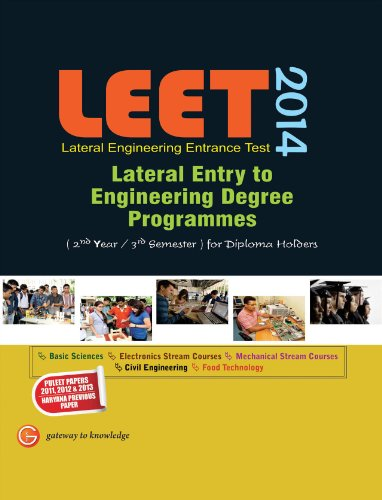 LEET 2014: (Lateral Engineering Entrance Test)
