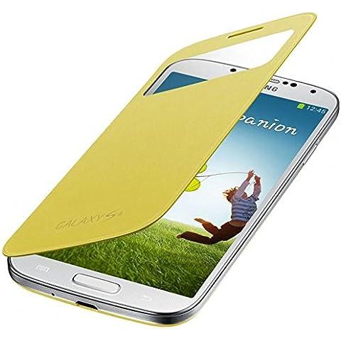 Samsung BT-EFCI950BYEGW - Funda para Samsung i9500 Galaxy S4, color amarillo