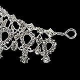 #1: Imported Prom Wedding Party Brides Maid Rhinestone Tiara Crown Headband Clasp Silver