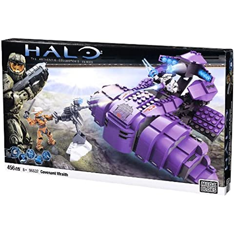 Mega Bloks - 96832U - Set de construcción  - Pacto de Halo Wraith