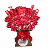 Lindt Lindor 22 Chocolate Bouquet - Sweet Hamper Tree Explosion