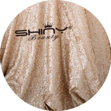 3 Meter Pailletten Stoff glänzend funkelnde Stickerei Material verkauft von Meter Kostüm Kostüm Prom/Hochzeit Kleider Stoff, Nähen Stoff Weihnachten (Benutzerdefinierte Pailletten Kostüme)