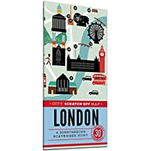 City Scratch-off Map London: A Sightseeing Scavenger Hunt