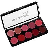 Swiss Beauty Matte Lip Pallete, Multicolor-01, 10g