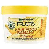 Fructis Hair Food Banana Maske Nährende 3in 1mit Formula Vegan für trockenes Haar–390ml