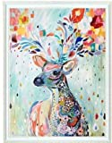 Colorful Deer counted cross stitch, Egypt cotton thread , 14ct 42x49cm 150x200 Stith counted cross stitch kits