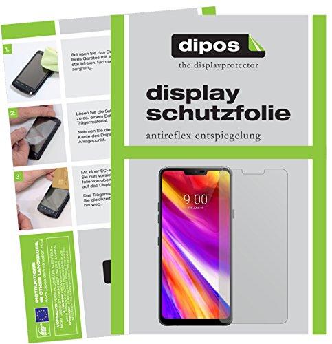 dipos I 6X Schutzfolie matt passend für LG G7 ThinQ Folie Bildschirmschutzfolie