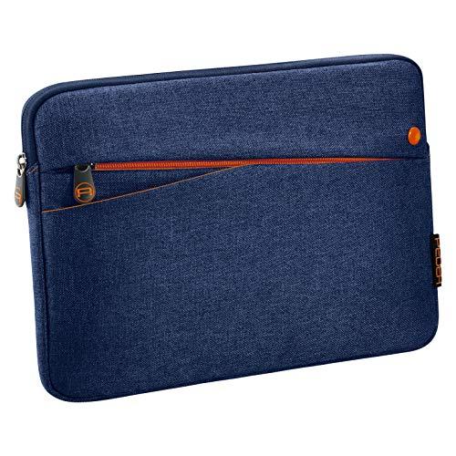 """PEDEA Tablet PC Tasche \""""Fashion\"""" für 10,1 - 11 Zoll (25,6 - 27,96 cm) Schutzhülle Etui Case mit Zubehörfach, blau"""