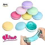 FUNTOK 8 pezzi Macarons Slime Colorful Magica Argilla Squishy Slime stress relief giocattoli per bambini Il miglior regalo