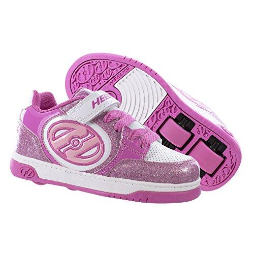 Heelys Mädchen X2 Plus Turnschuhe, Pink (Light Pink/White), 35 - Heelys Mädchen X2