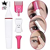 SUPERIOR Sweet Sensitive Touch Facial Razor Remover Cordless Precision Electric Trimmer For Women Hair Removal...