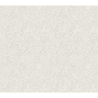 A.S. Création 25x 1.06m Made in Germany 145215145215White Paintable Non-Woven Wallpaper