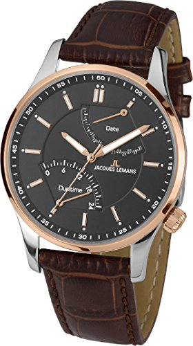Jacques-Lemans-Mens-Watch-Analogue-Quartz-Leather-London-1--1902-C