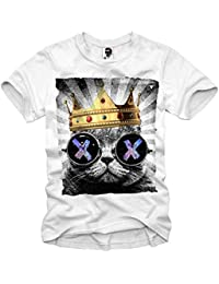 E1SYNDICATE T-SHIRT HIPSTER CAT LSD WASTED YOUTH ELEVEN DOPE ECSTASY XTC S-XL