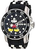 Invicta 23763 Disney Limited Edition - Mickey Mouse Reloj para Hombre acero inoxidable Cuarzo Esfera negro