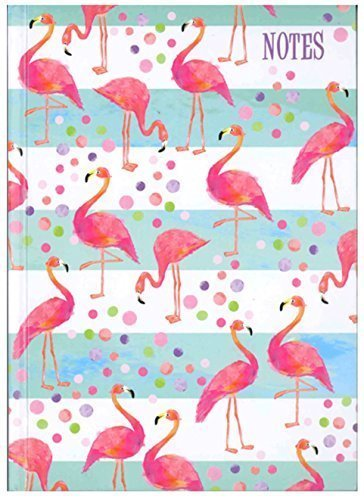 A5 Flamingo HARDCOVER Hardcover Liniertes Notizbuch 80GSM Paper