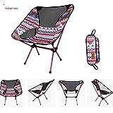 Caretras EIN klappstuhl, sttech1 Portable rückenlehne leicht Camping liefert Bunte verstärkt mond Stuhl Fischerei Stuhl (Schiff aus den usa, red)