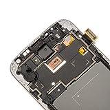 Pantalla LCD Reemplazo de Pantalla Táctil con Marco para Samsung Galaxy S4 I9505 de URNICE,Blanco