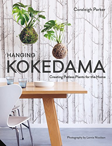 Hanging Kokedama: Creating Potless Plants for the Home por Coraleigh Parker