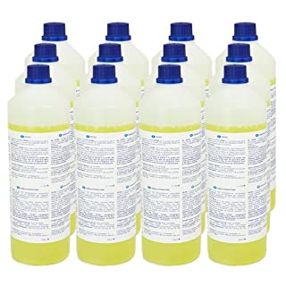 Carpet Shampoo for all Extraction Cleaners 1 litre Set of 12 Extremely High-Yielding! Mixing ratio 1:200 - tested and recommended for Hydro 7000, Aquafilter 2000 and Extra 2000.