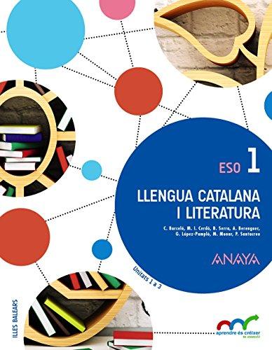 Llengua catalana i literatura 1. (Aprendre és créixer en connexió) - 9788467851663 por Alexandre-Valentí Berenguer i Carbonell