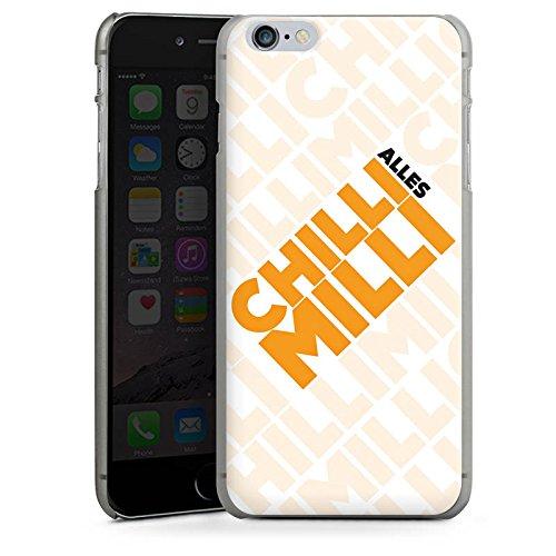 Apple iPhone X Silikon Hülle Case Schutzhülle LPmitKev Fanartikel Merchandise Alles Chilli Milli Weiss Hard Case anthrazit-klar
