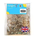 "25mm (1"") Keyrings - Pack of 100 Key Rings - UK Supplier (Lots of Other too)"